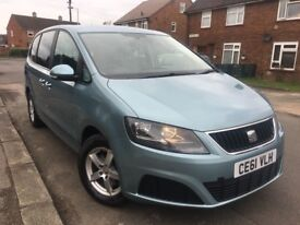 SEAT ALHAMBRA 2.0 TDI DIESEL DSG AUTOMATIC 7 SEATER PCO AND UBER READY VW SHARAN