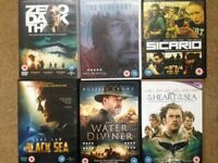 Job lot - 36 DVDs (38 movies in total) Nearly all Action / Thriller - £15 the lot