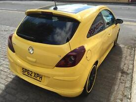 VAUXHALL CORSA 1.2 Limited Edition (yellow) 2012