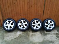VW Sport Alloy Wheels - Pirelli Tyres - 5x112