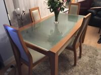 Dining table & chairs - cheap
