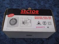 Ventilation Expeller Fan with through wall duct for Bath Room, Toilet or Kitchen £10