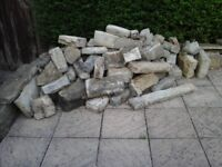 Various size natural stone free for collection