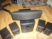 Mission speakers 5.1 surround Sound