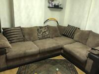Large DFS corner sofa/ sofabed