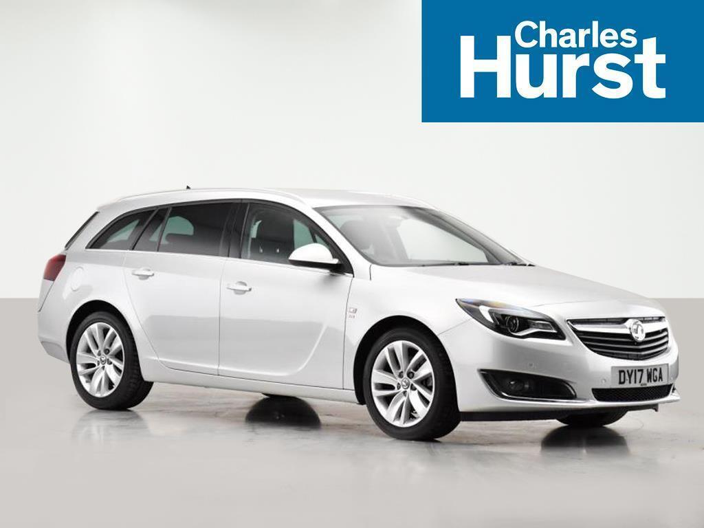 Vauxhall Insignia SRI NAV CDTI ECOFLEX S/S (silver) 2017-04-04