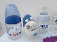 Various Baby feeding bottles Avent Nuk dr brown