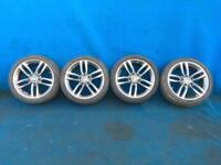 BMW 12 SERIES F20 F21 F22 F23 X4 M DOUBLE SPOKE 461 ALLOY WHEELS & TYRES