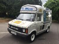 Soft ice cream van Bedford cf Cummins £6995