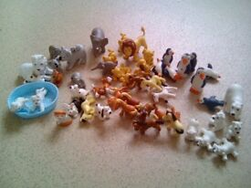 Selection of toy figures