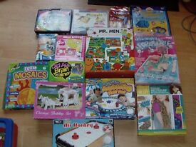 xmas clearout - board games and toys
