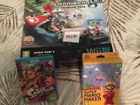 BOXED WII U WITH GAMES