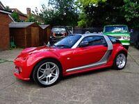 2006 Limited edition RCR Barabus Smarter roadster No 41 of 50 in the world in Ferrari Corsa Red