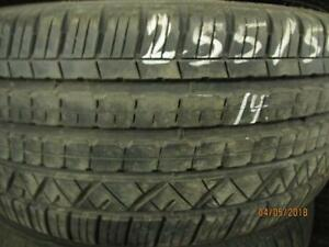 255/50R19  SINGLE USED DUNLOP A/S TIRE