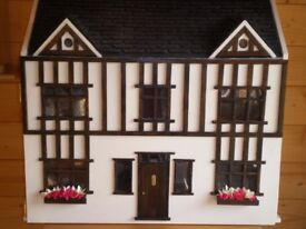 Hand Made Tudor Dolls House