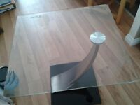 Glass Top Lamp Table. from Harveys Furniture