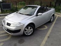2006 RENAULT MEGANE CONVERTIBLE! 74K LOW MILEAGE! BARGAIN ONLY £550 STRICTLY NO OFFERS!