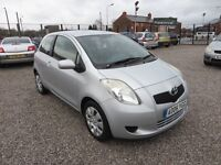 2006 Toyota Yaris 1.0 VVT-i T3 3dr Service History New Clutch Kit Fitted, 2 Keys ,Clean &Tidy Car