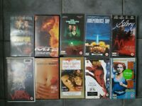 18 VHS video tapes