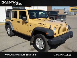2013 Jeep Wrangler Unlimited Sport AC/PD/PW Hard Top