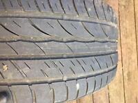 2553519 Barum Part worn Tyre Audi A4 Mercedes Bmw 255 35 19