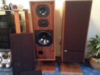 B&W DM2 mk11 speakers