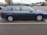 HONDA ACCORD 2.2 CDT-I ESTATE 2 OWNERS F/H/M/D/S/H 13 STAMPS TO 162K IN PRISTINE CONDITION
