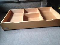 Under cot/bed storage drawer