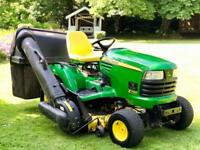 "John Deere X740 Ride On Mower - 48"" Deck & Collector - Lawnmower - Stiga/Honda/Countax/Kubota"