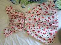 Cute strawberry dress