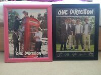 One direction framed pictures