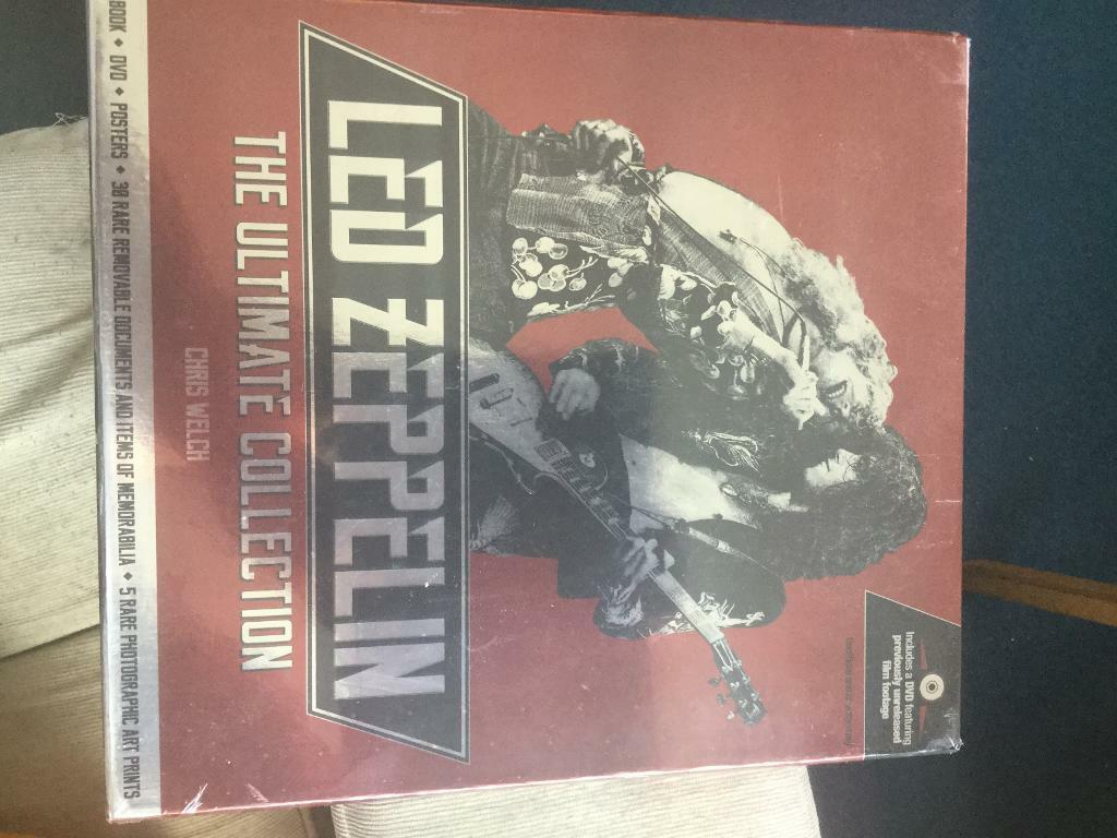 Led Zeppelin Book/DVD/Poster Collection   in Southville, Bristol   Gumtree