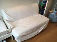 IKEA lycksele lovås sofabed with FREE storage box