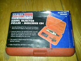 SEALEY DIESEL INJECTOR PULLER - MERCEDES CDI - NEW UN-USED, OTO