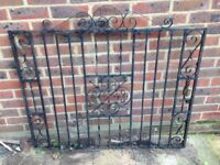 I have steel gates for sale which are in good condition but may need painting. Buyer to collect.