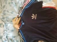 5 Adidas original t shirts xl