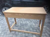 Desk Table Oak