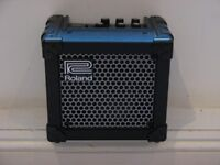 Roland Micro Cube Modelling Guitar Amp with Effects. DC 9V & Battery Powered VGC