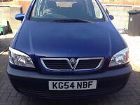 Vauxhall Zafira 2.0 DTi 16v Design 5dr Diesel.