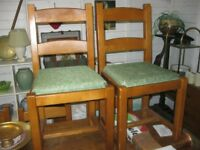 8 X MATCHING ORNATE CHAIRS. COMFORTABLE. VIEWING / DELIVERY AVAILABLE