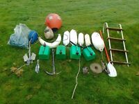 Boating Bits, shed clear out, offers