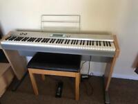 Electronic Casio piano