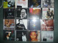 Fifty five CDs Pop