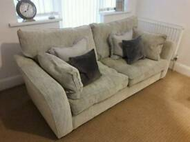 Grey 4 seater sofa Furniture Village