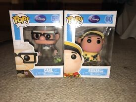 Disney Pop Vinyl Carl and Russell