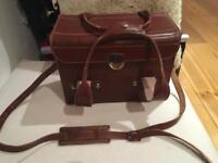 Antique Vintage Camera Bag