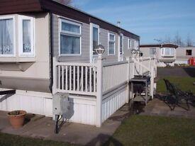 2 Bedroom Caravan to rent at Southview Skegness
