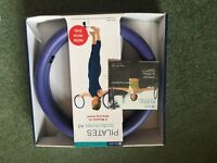 Pilates fitness ring with DVD