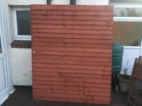 Fence panel 6ft x 5ft