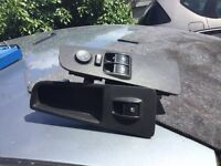 2007 fiat punto pair of front window switches - free postage